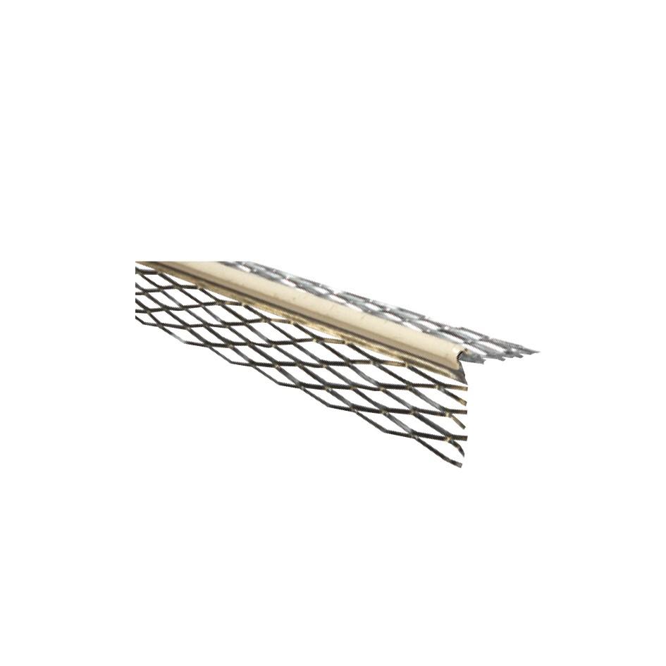 Baguette en V déployé avec jonc PVC blanc ou beige