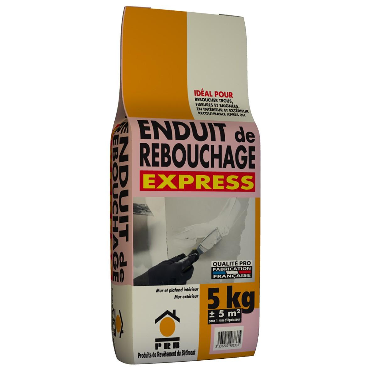 PRB ENDUIT DE REBOUCHAGE EXPRESS - Enduit de rebouchage exterieur