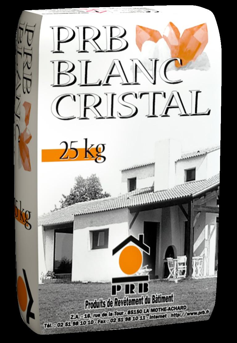 Enduit Blanc Mur Exterieur prb blanc cristal
