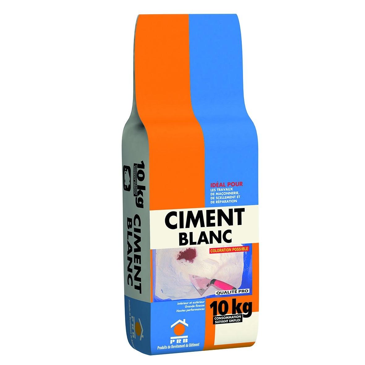 PRB CIMENT BLANC 10 KG