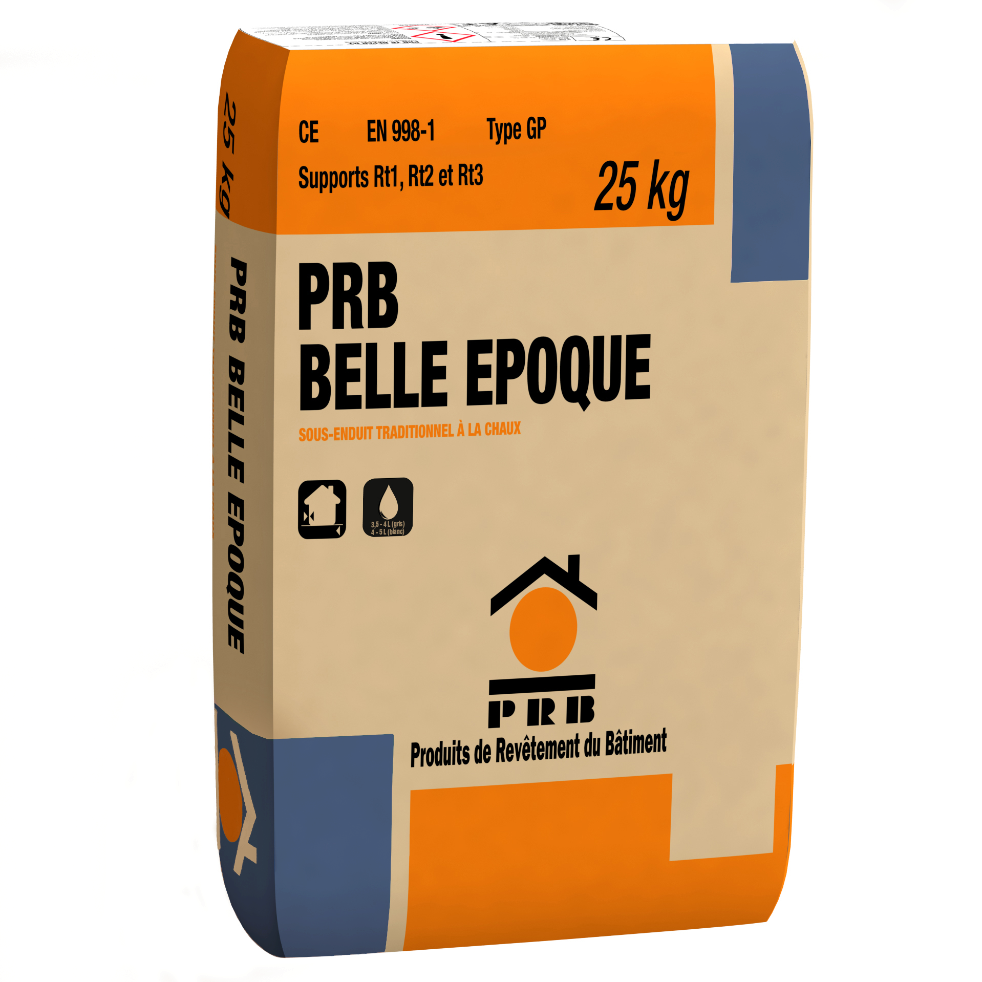 PRB BELLE EPOQUE SOUS-ENDUIT 25 KG
