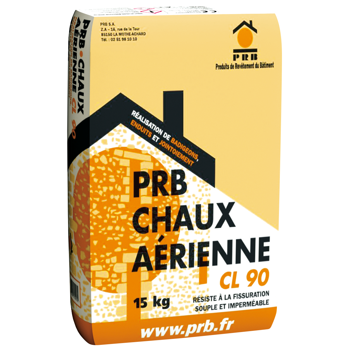 PRB CHAUX AÉRIENNE 15 KG