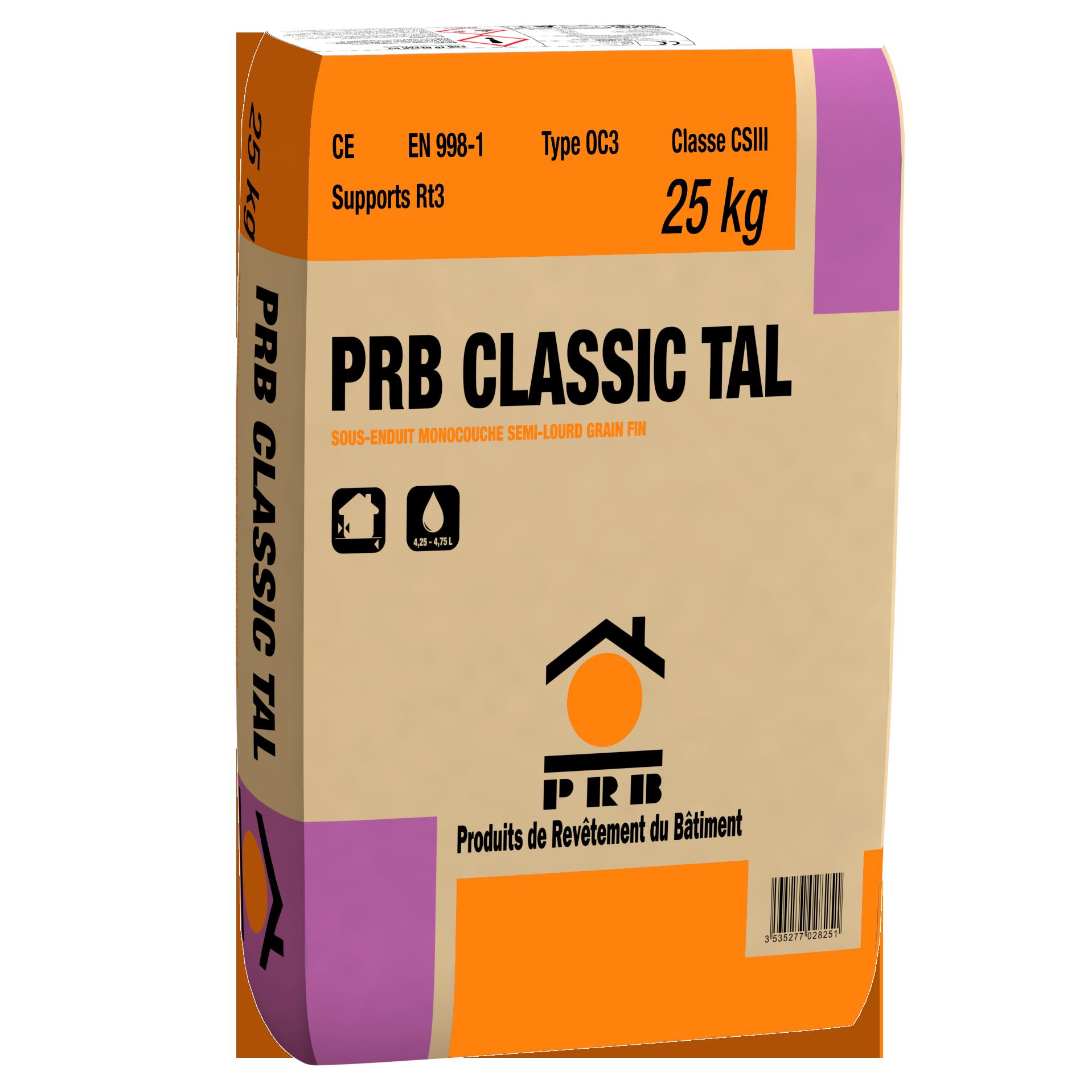 PRB CLASSIC TAL 25 KG