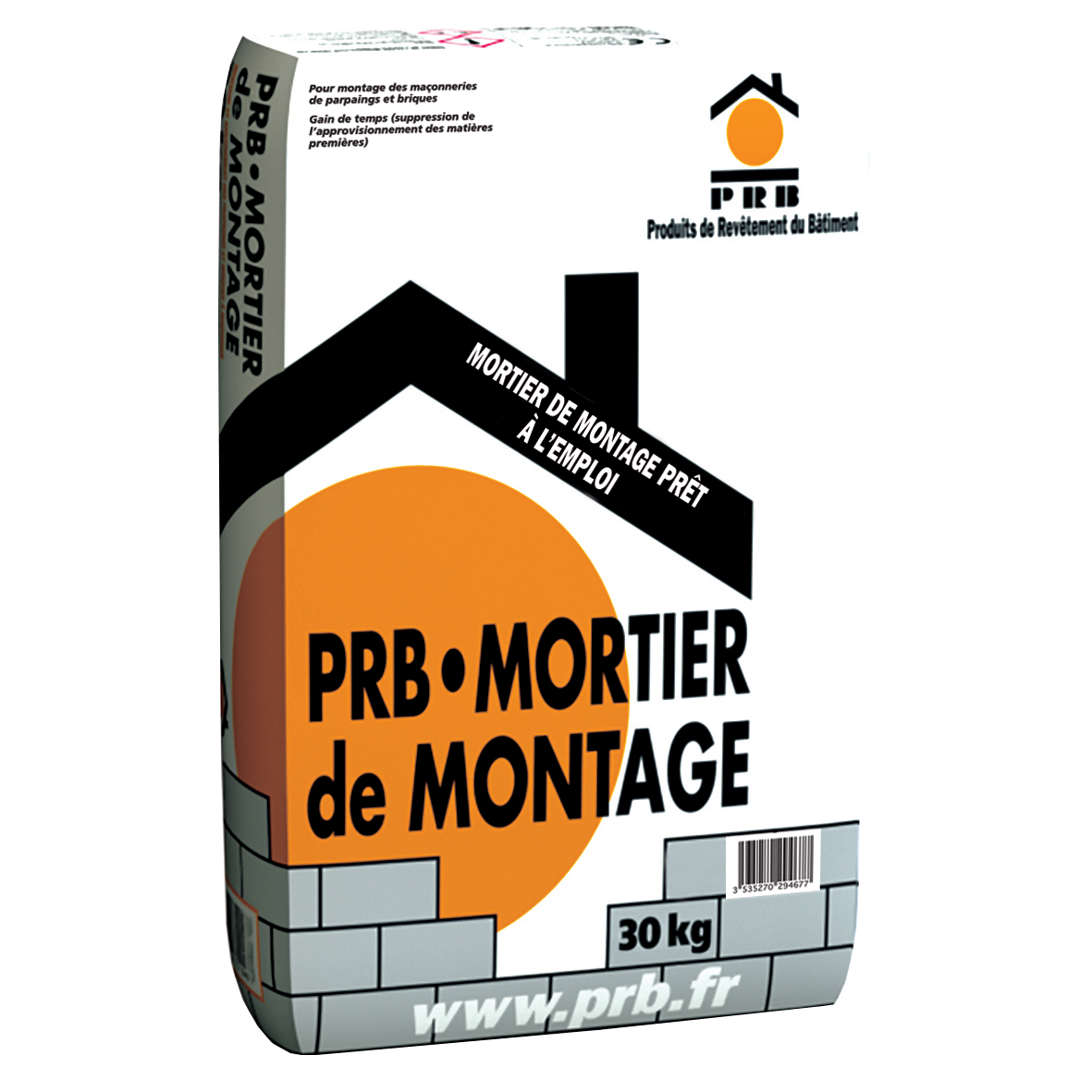 PRB MORTIER DE MONTAGE 30 KG