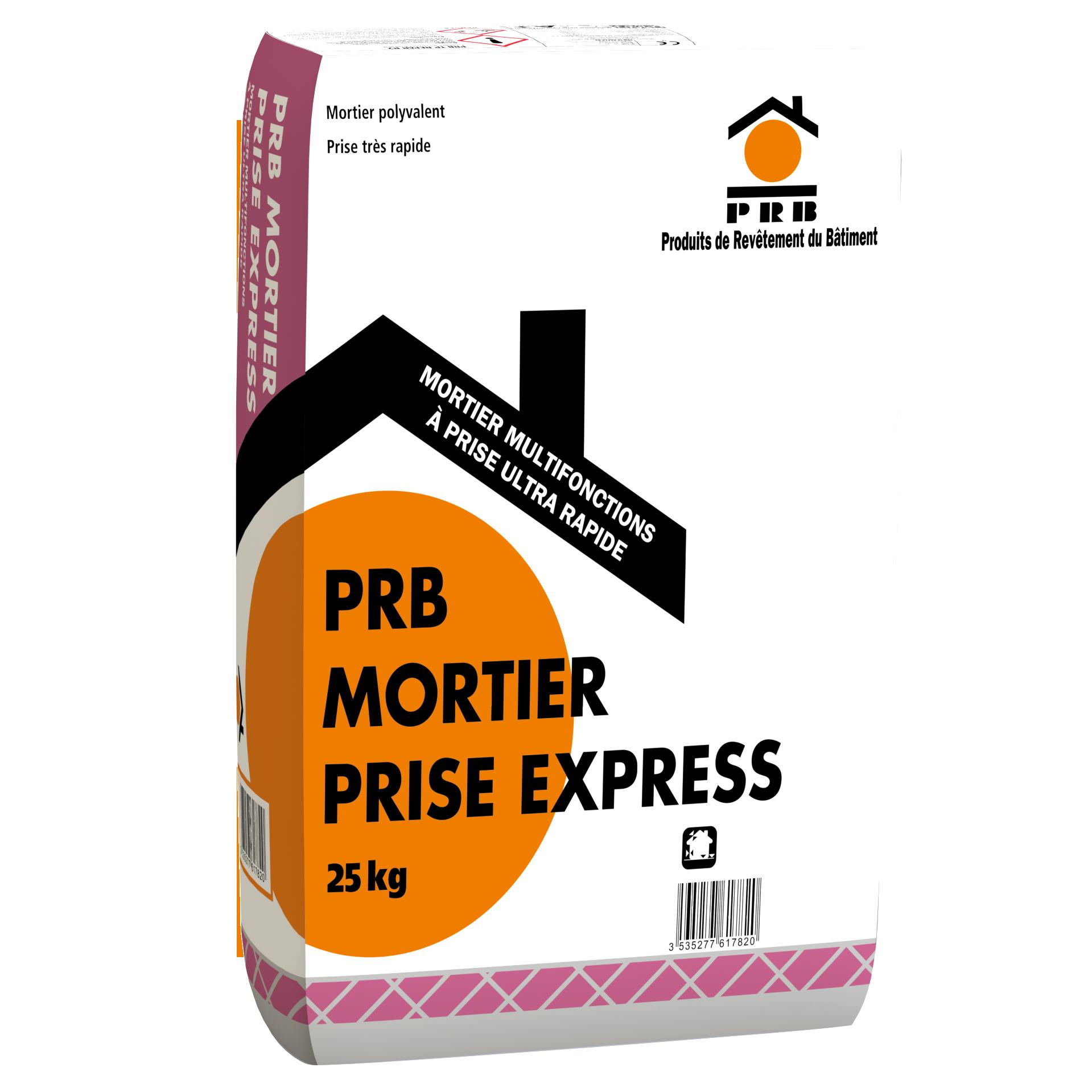 PRB MORTIER PRISE EXPRESS 25 KG