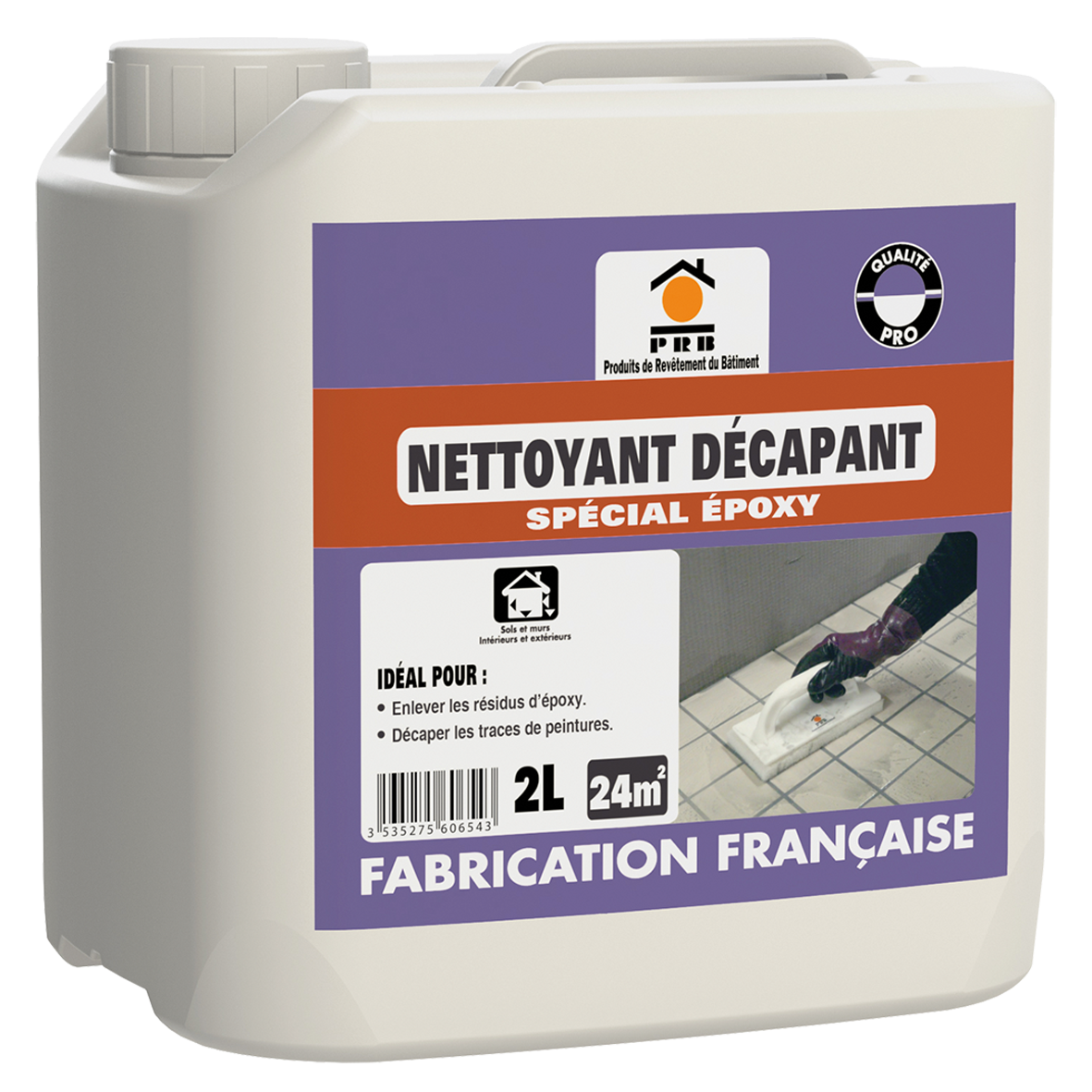 RB NETTOYANT DECAPANT SPECIAL EPOXY 2 L