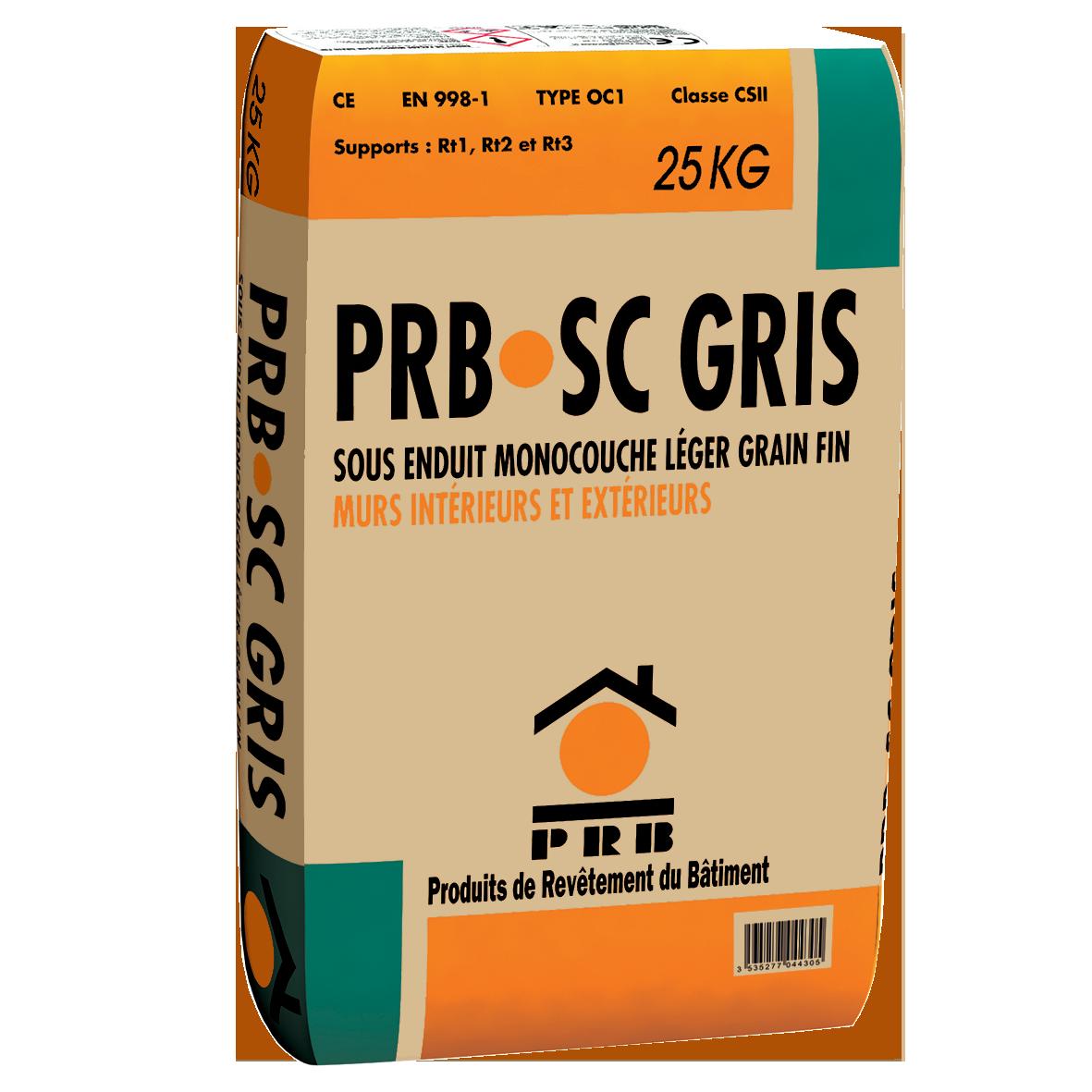 PRB SC GRIS 25 KG