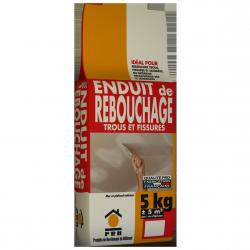 PRB ENDUIT DE REBOUCHAGE 5 KG