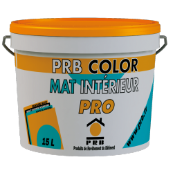 PRB COLOR MAT INTERIEUR PRO 15 L
