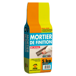 PRB MORTIER DE FINITION BLANC 5 KG