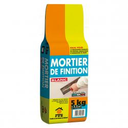 PRB MORTIER DE FINITION BLANC 5 KG