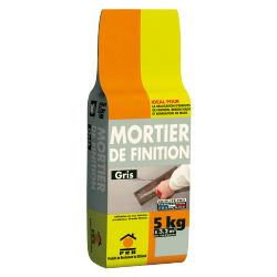 PRB MORTIER DE FINITION 5 KG GRIS