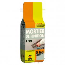 PRB MORTIER DE FINITION 5 KG GRIS