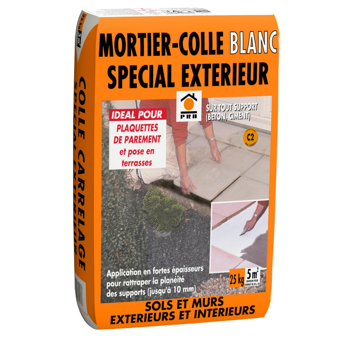Lmb for Mortier colle exterieur