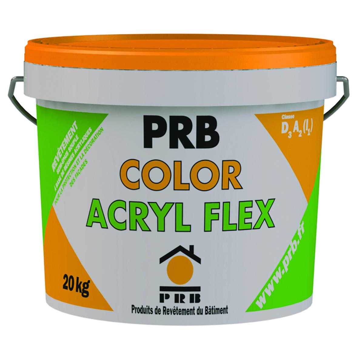 Prb color acrylflex for Prb peinture facade
