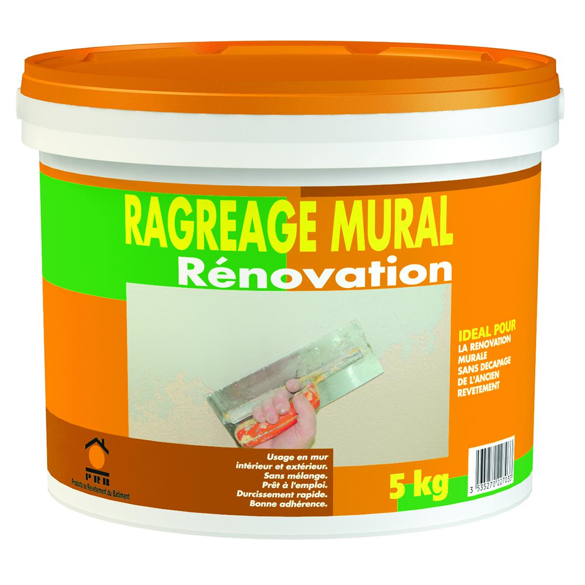 Libre service la gamme compl te for Ragreage mural exterieur