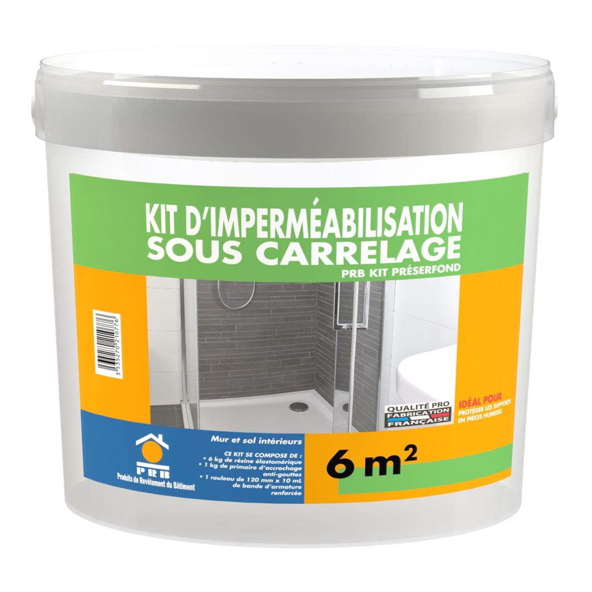 Libre service la gamme compl te for Kit etancheite sous carrelage