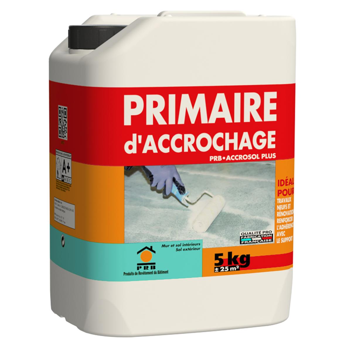 Primaire d accrochage beton beautiful primaire universel - Primaire d accrochage peinture plafond ...